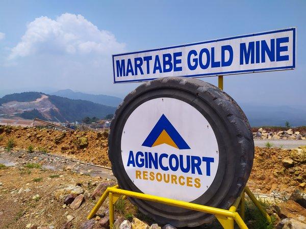 PT Agincourt Resources menargetkan produksi emas sebanyak 400.000 ounce pada 2019. Perusahaan yang tergabung dalam Grup Astra tersebut terus masih terus melakukan eksplorasi untuk menemukan sumber cadangan baru. - Bisnis/Lucky Leonard