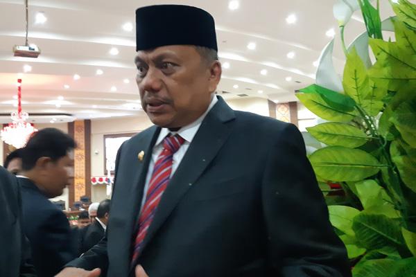 Gubernur Sulawesi Utara Olly Dondokambey. - Bisnis/Ilman A. Sudarwan