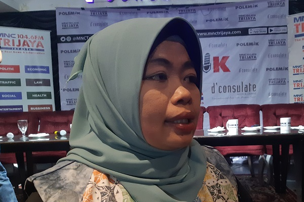Peneliti senior Institute for Development of Economics and Finance (Indef) Enny Sri Hartati di Jakarta, Sabtu (6/7/2019). - Bisnis.com/Samdysara Saragih