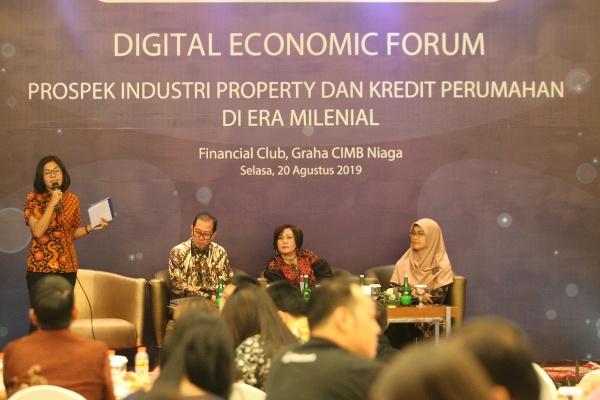Digital Economic Forum, Selasa (20/8/2019) - Putri Zakia Salsabila
