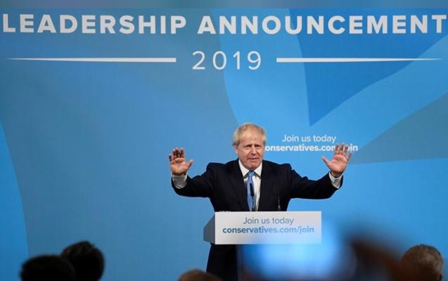 Boris Johnson - REUTERS/Toby Melville