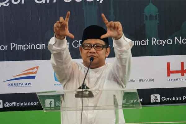 Ketua Umum Partai Kebangkitan Bangsa (PKB) A. Muhaimin Iskandar. - Bisnis