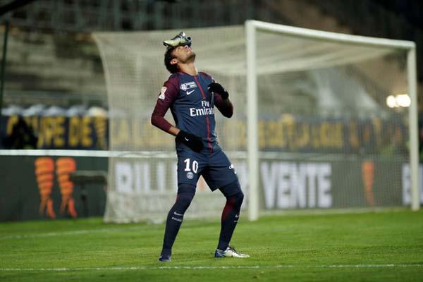 Neymar da Silva Santos Jr. - Reuters/Benoit Tessier