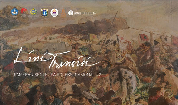 Pameran Seni Rupa Koleksi Nasional yang menampilkan karya seni rupa koleksi negara. - Repro/Galeri Nasional
