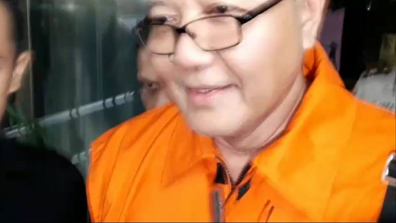 Tersangka suap izin impor bawang putih I Nyoman Dhamantra. JIBI/Bisnis - Ilham Budiman