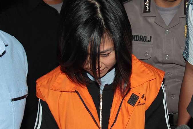 Gabriela Yuan Ana ditahan KPK. - Antara/Reno Esnir