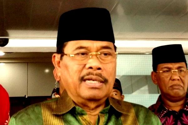 Jaksa Agung Muhammad Prasetyo memberikan keterangan pers di Jakarta, Jumat (4/5/2018). - Bisnis.com/Samdysara Saragih