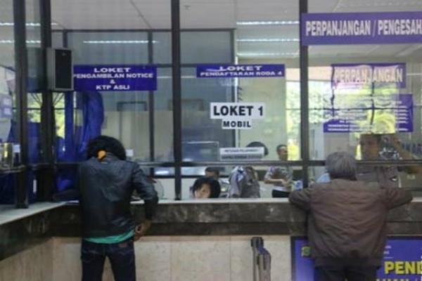 Samsat Jakarta Pusat - Antara