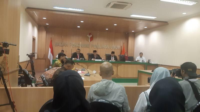 Ilustrasi sidang sengketa Pemilu. - Bisnis/Jaffry Prabu Prakoso