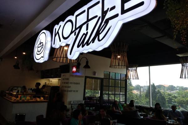 Kofee Talk Hotel Grand Edge Semarang