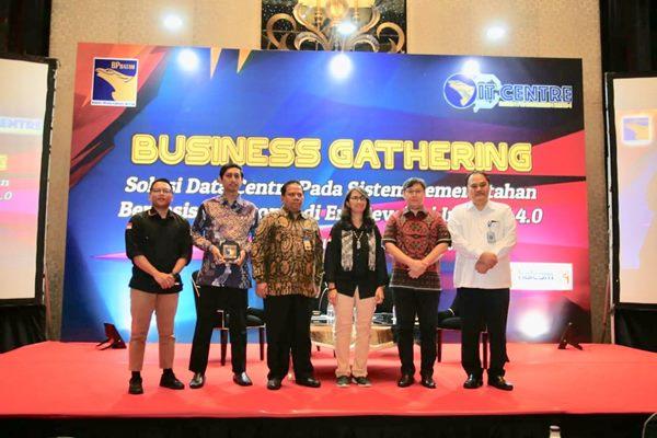 Business Gathering tentang Data Centre yang digagas pusat PDSI BP Batam - Humas BP Batam.