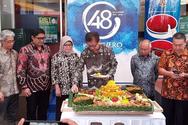 HERO mengadakan acara Syukuran Ulang Tahun ke-48 di Hero Supermarket Gondangdia Jumat (23/8/2019). - Istimewa