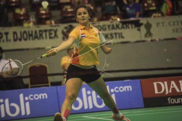 Ilustrasi: Pemain bulu tangkis asal Thailand ketika mengikuti kejuraan para-badminton di Indonesia. - Antara