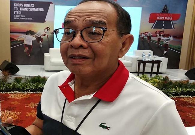 Direktur Utama PT Hutama Karya (Persero) Bintang Perbowo. - Bisnis/Hery Trianto