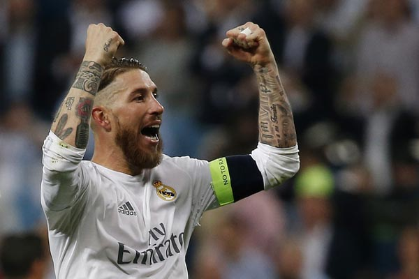 Kapten Real Madrid Sergio Ramos - Reuters/Sergio Perez