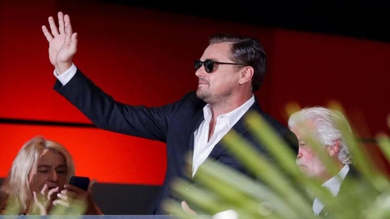 Aktor yang juga aktivis lingkungan Leonardo DiCaprio. - Reuters