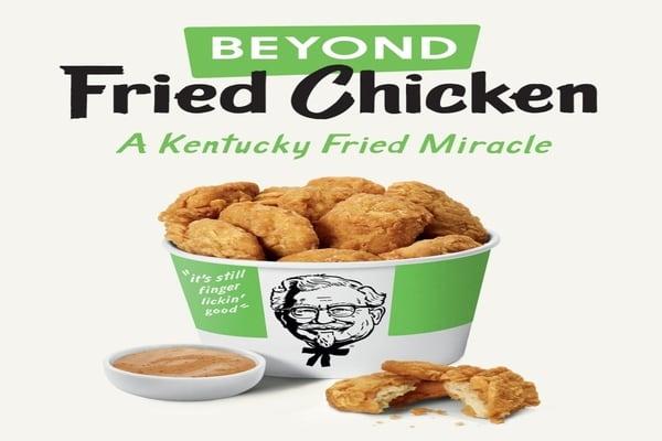 Menu KFC Ayam Vegan / People.com