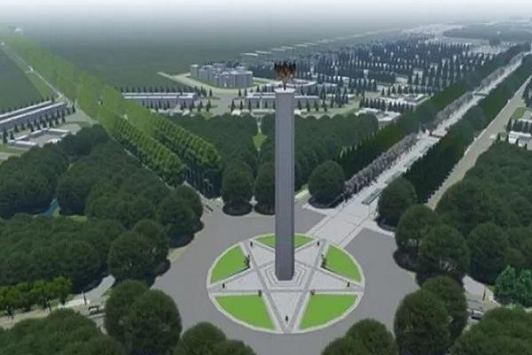 Ilustrasi-Gagasan rencana dan kriteria desain ibu kota negara. - Antara