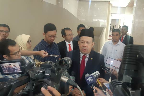 Fahri Hamzah - Bisnis/Jaffry Prabu Prakoso