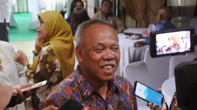Menteri PUPR Basoeki Hadimoeljono. - Bisnis/Anitana Widya