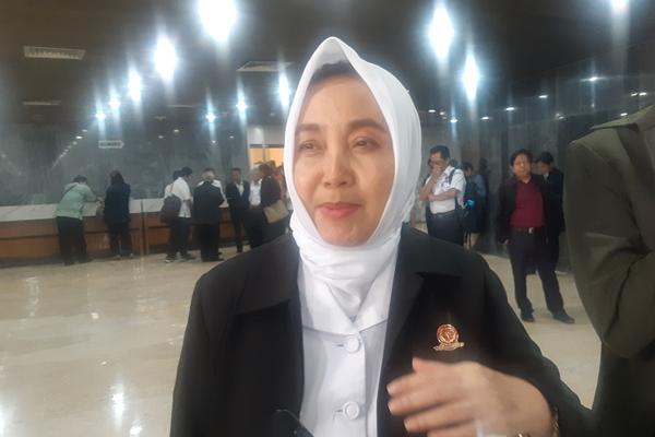 Kepala Badan Meteorologi, Klimatologi dan Geofisika (BMKG) Dwikorita Karnawati - Bisnis/Jaffry Prabu Prakoso