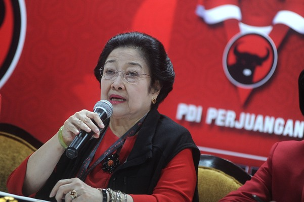 Ketua Umum PDI Perjuangan Megawati Soekarnoputri - ANTARA /Fikri Yusuf