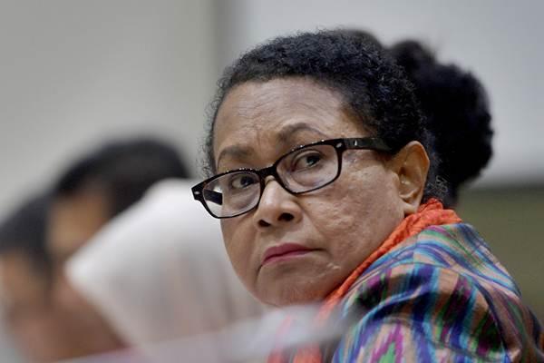Menteri Pemberdayaan Perempuan dan Perlindungan Anak Yohana Yembise - Antara/Sigid Kurniawan