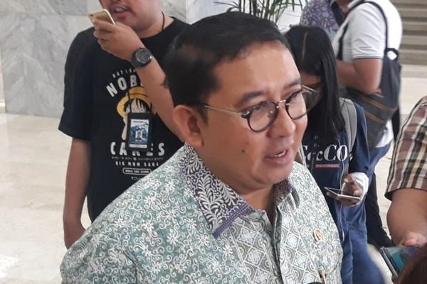Wakil Ketua DPR RI Fadli Zon di kompleks parlemen Senayan Jakarta, Rabu (28/8/2019) - Bisnis/Jaffry Prabu Prakoso