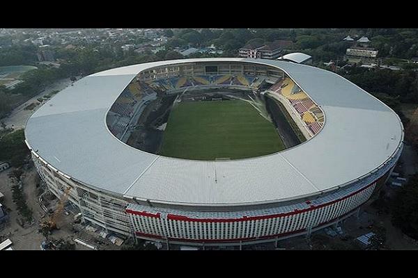 Stadion Manahan di Kota Solo, Jawa Tengah - Isntagram @jokowi