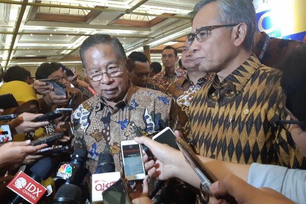 Menteri Koordinator Bidang Perekonomian Darmin Nasution - Bisnis/Duwi Setiya Ariyanti