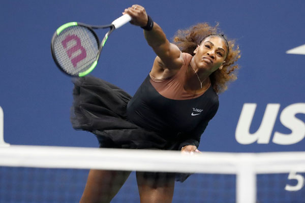 Petenis Amerika Serikat Serena Williams - Reuters
