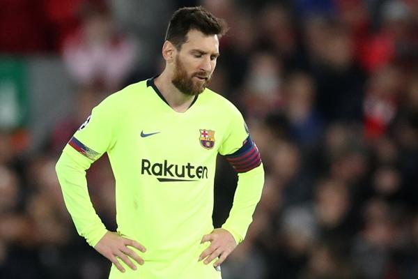 Lionel Messi - Reuters/Carl Recine