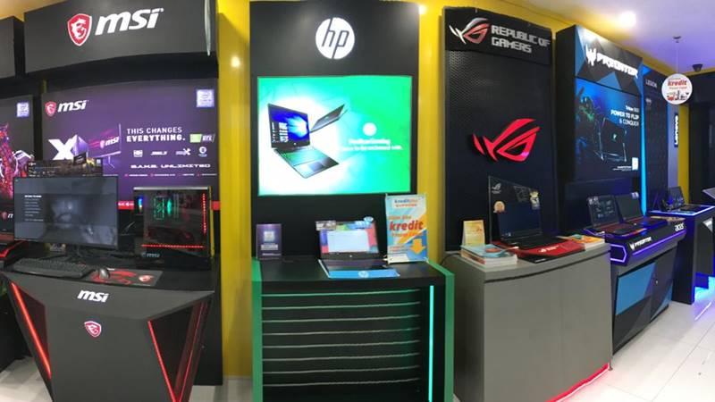 Bhinneka Store khusus gaming di Mal Mangga Dua. - Istimewa
