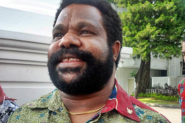 Lenis Kogoya, Ketua Lembaga Masyarakat Adat Papua diangkat Presiden Joko Widodo menjadi Staf Khusus Presiden - JIBI/Ana Noviani