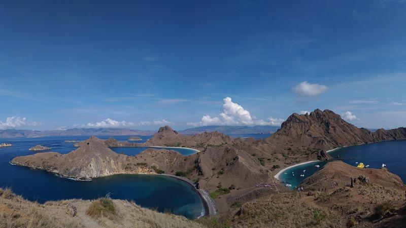 Pemandangan di Pulau Padar, Labuan Bajo, NTT. - Bisnis/M. Taufikul Basari