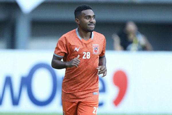Pemain sayap Borneo FC Terens Puhiri. - BorneoFC.id