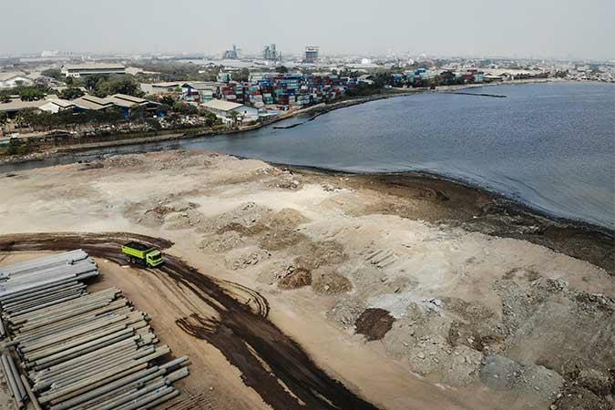 Pelabuhan PT Karya Citra Nusantara (KCN), Marunda, Foto - Antara