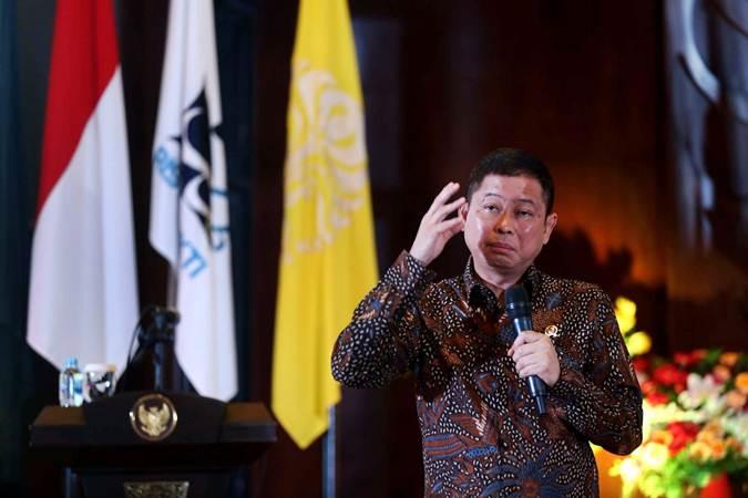 Menteri Energi dan Sumber Daya Mineral (ESDM) Ignasius Jonan - Bisnis/Nurul Hidayat