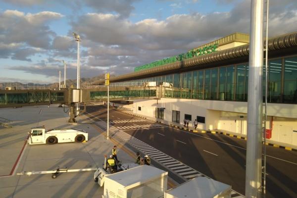 Bandara Oe-Cusse di Wilayah Administrasi Khusus Oe-Cusse, Timor Leste diresmikan Selasa (18/6/2019). Bandara ini dibangun oleh PT Wijaya Karya Tbk. - Zufrizal