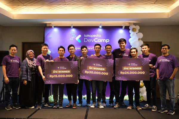 Pemenang kompetisi DevCamp 2019