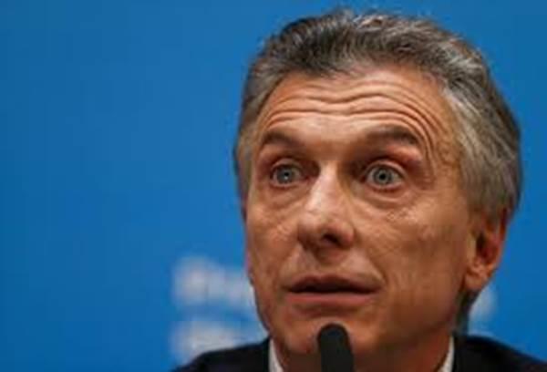 Presiden Argentina Mauricio Macri - Reuters
