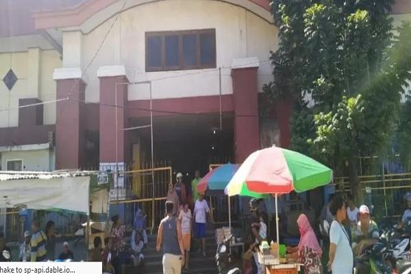 Aktivitas di Pasar Sentral Hamadi, Sabtu (31/8/2019) - Antara