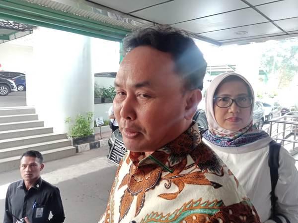 Gubernur Kalimantan Tengah Sugianto Sabran saat berada di Kemenko Kemaritiman, Jakarta, Selasa (3/9/2019). - Bisnis/Rayful Mudassir