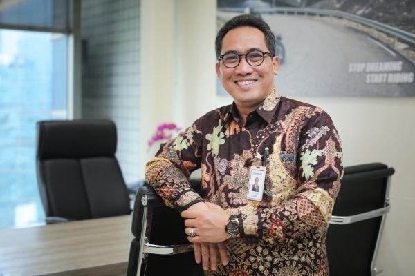 Corporate Secretary PT Bank Rakyat Indonesia (Persero) Tbk. Hari Purnomo - Istimewa