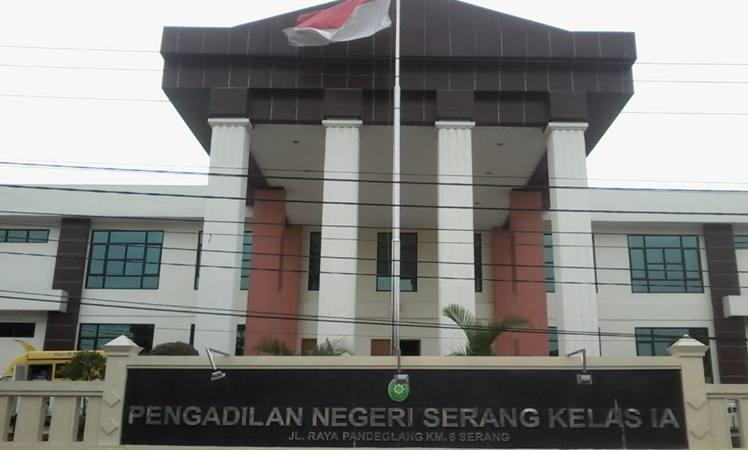 Pengadilan Negeri Serang. - Bisnis/Ilustrasi