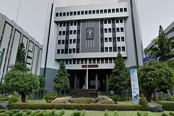 Gedung Kementerian Hukum dan HAM di Jakarta. - Istimewa