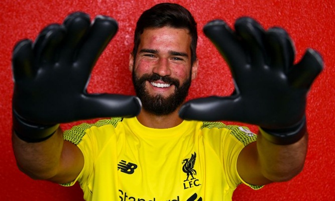 Kiper Liverpool, Alisson Becker - Liverpool FC