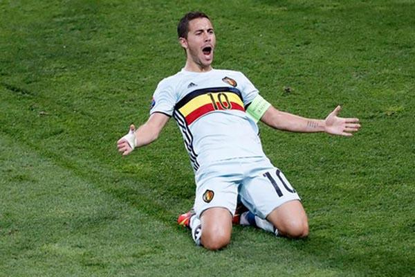 Eden Hazard - Reuters/Vincent Kessler