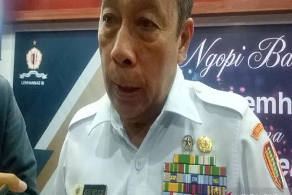 Gubernur Lembaga Ketahanan Nasional (Lemhanas) Agus Widjojo ditemui di Gedung Lemhanas, Jakarta Pusat, Rabu (4/9/2019) - Antara