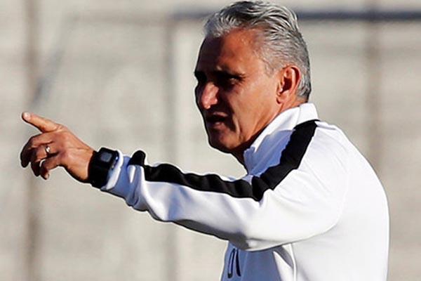 Pelatih Timnas Brasil, Tite alias Adenor Leonardo Bacchi. - Reuters/Paulo Whitaker